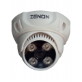 ZENON HB4A-A20-PL4B36 1/3 CMOS 2 MP (1080P) 3.6mm 4 Mini P.Led Dome AHD Güvenlik Kamerası